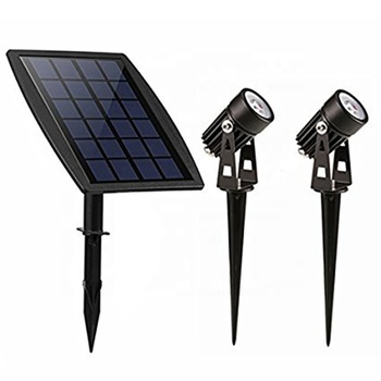 2 watt outdoor led landschap park verlichting staande solar led tuin Lamp voor camping scenic spots adverteren projector board