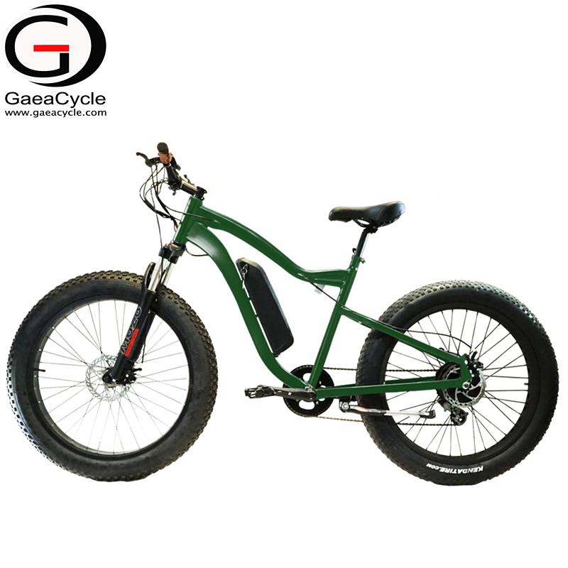 Gaea 48 V 500 W Eléctrica Bicicleta Grasa Playa Crucero Bicicleta En ...