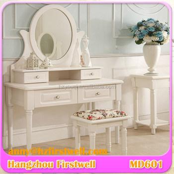 Slim Beauty Table Vanity White Jewelry Royal Vintage Kids Dressing Table