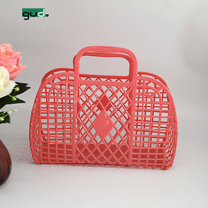 PE Plastic Storage Basket/shopping basket