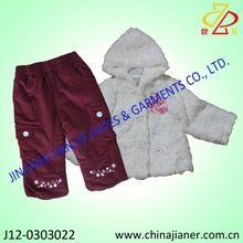 winter baby girl 2 pcs suit set,baby clothing,baby garments