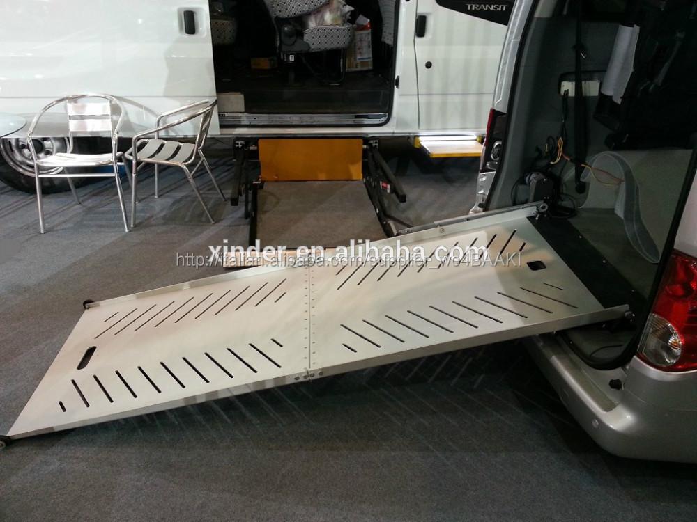 bewr sedia a rotelle rampa elettrica per furgone carico 350kg-Rampa di moto-Id prodotto ...