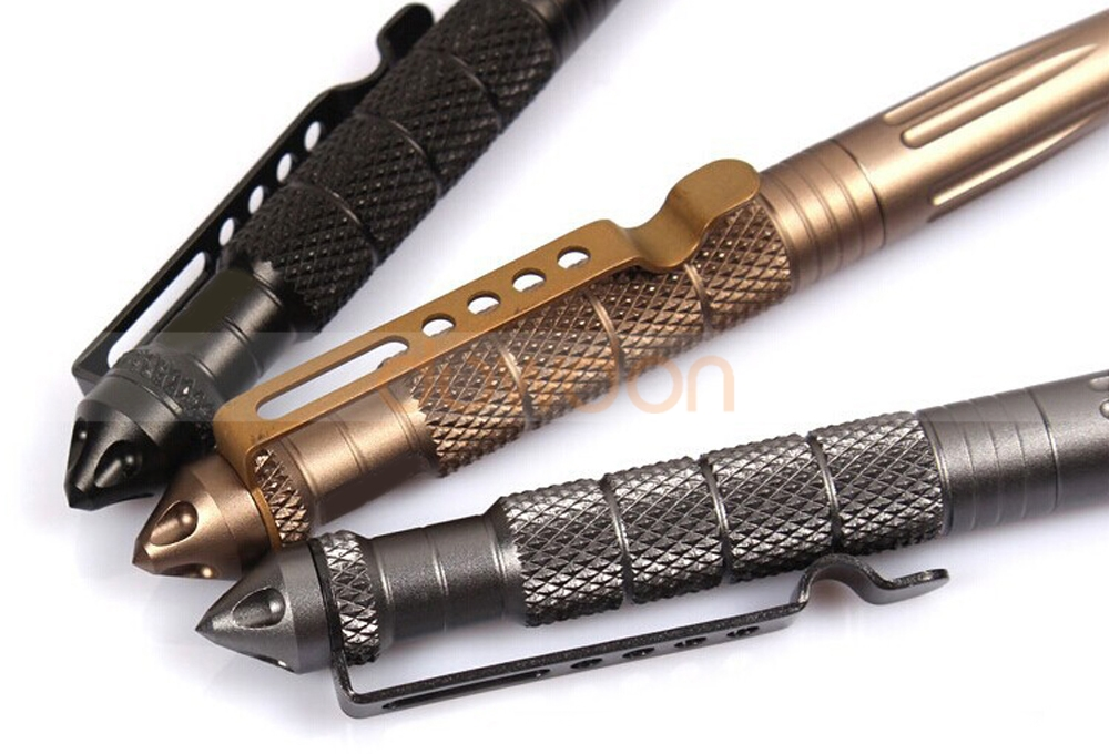 Tactical Self Defense Survival Multitool Pen Window Glass Breaker
