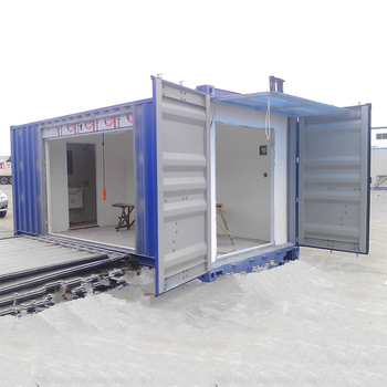 China Mini Caravan Storage Container Van House For Sale