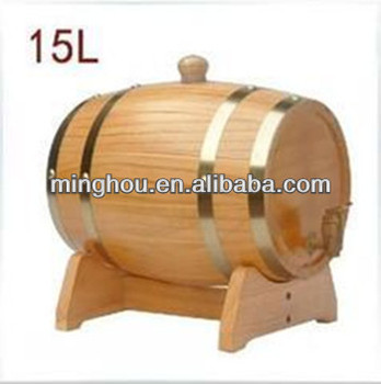 15l Used Antique Wooden Wine Barrels With Wine Barrel Stands Buy