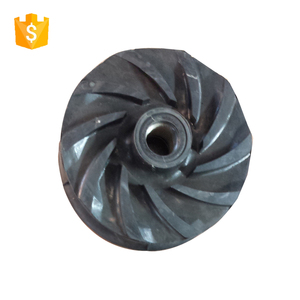 Vertical slurry sump pump rubber impeller price