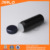 2oz black color HDPE plastic type baby powder bottle with sifter and screw sealing cap 60ml plastic talcum powder bottle