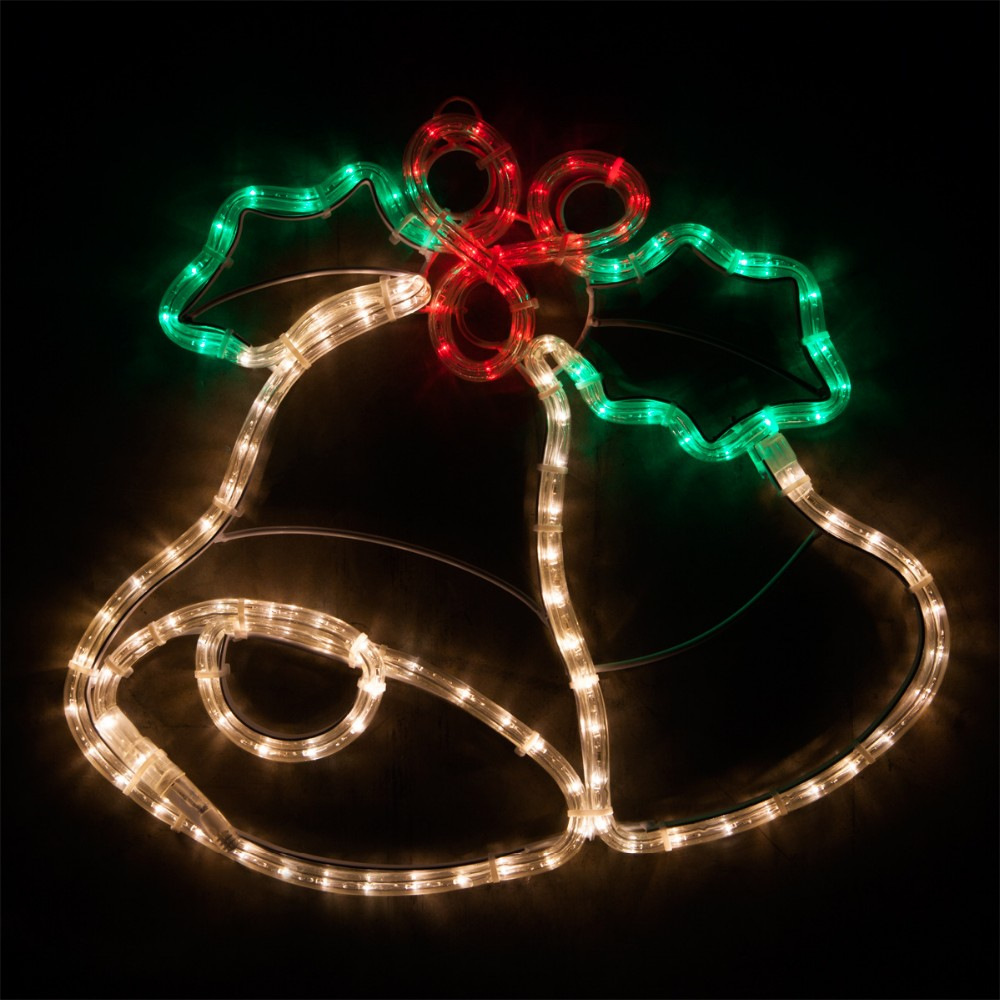 new design 2015 led christmas lights bell led rope light. Black Bedroom Furniture Sets. Home Design Ideas