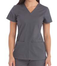 Donne uniforme Ospedale <span class=keywords><strong>Scrub</strong></span> <span class=keywords><strong>top</strong></span>