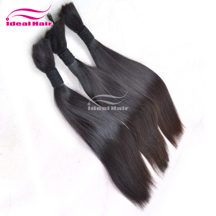 Top Quality cheap virgin 100% loose human hair bulk extension,braiding russian human hair bulk,cheveux indiens hair