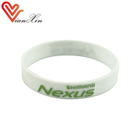 silicone o ring power bracelet rubber material