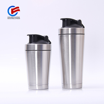Double Wall Stainless Steel Insulated Protein Shaker bottle