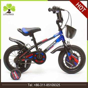 High Quality 12 Boy Bike For Children 4 Wheels Cheap Steel Frame ...