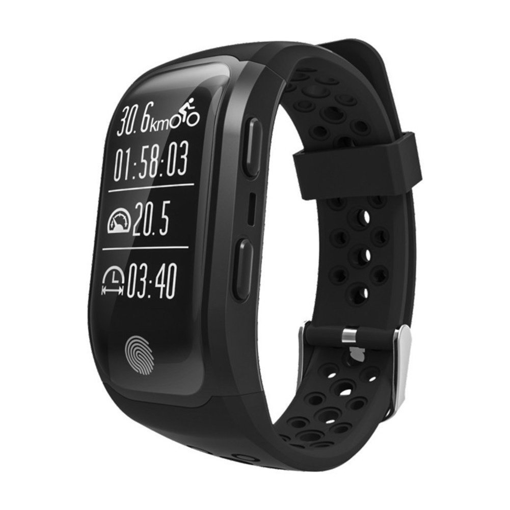 Gps Sports Fitness Tracker,Activity Tracker With Real Time Heart Rate Monitor Sleep Analysis Ip68 2 Meters Depth Waterproof Smart Bracelet Bluetooth Band