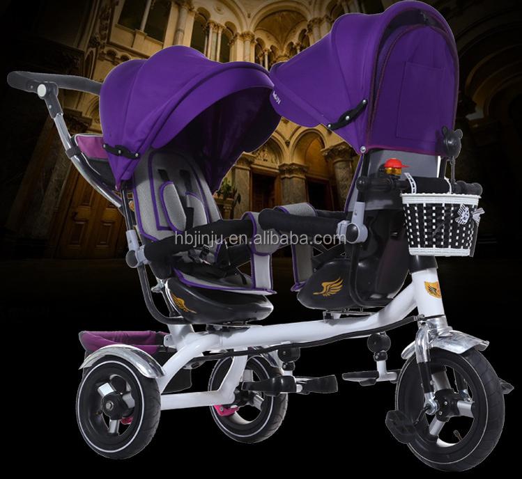 Poussette Jumeau Jumeauxbébé Design De Porteurs Transporteur Id Tricyclebébé Tricycle PoussettesDéambulateurs Pour Jumeaux Nouveau Et Bébé H29IWEDY