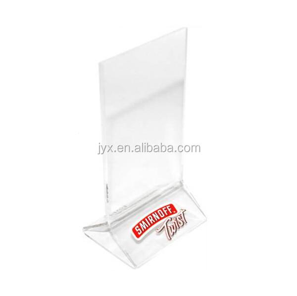 A4 Size Acrylic Menu Holder Acrylic Table Tent - Buy Acrylic A4 ...