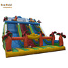 Commercial inflatable double lane slide for sale