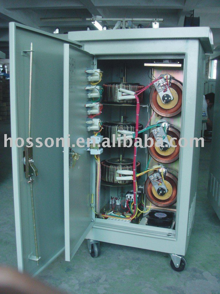 Svc Type 3phase Stabilizer(avr,Regulator) For Out Door Use