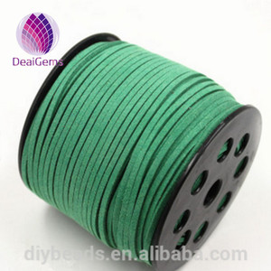 3mm Width Korean flat Faux Suede Cord Jewelry Accessories