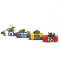 Mini Cactus Succulent Desert Plant Indoor Decorative Artificial Succulent Plant