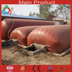 China Brand Family Size Durable Portable Mini Biogas Digester PVC Biogas Balloon Small Biogas Plant