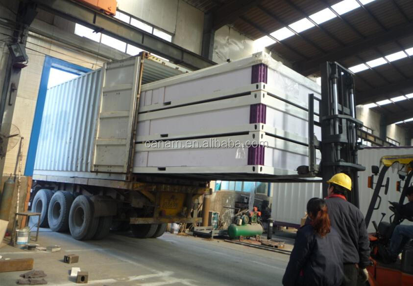 low cost container prefabricated houses cheap living flat pack container