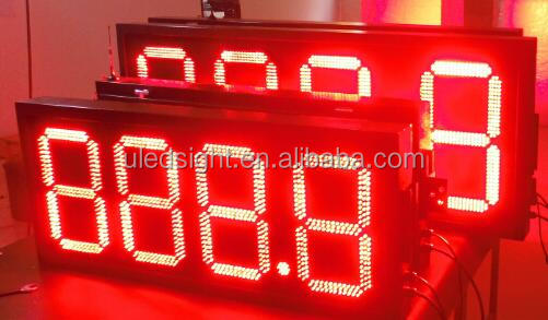 Project design oil price sign led gas price sign for sale