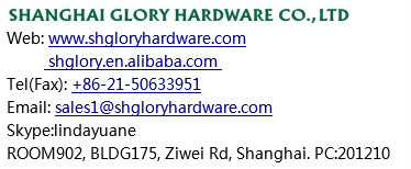 China Glory furniture door plastic handle for furniture
