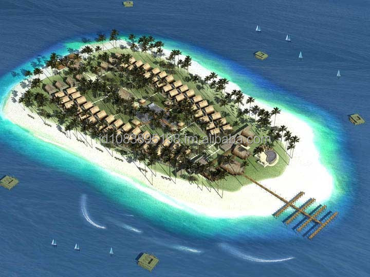 A Island Resort In Indonesia For Sale