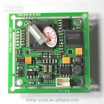 Ccd Cctv Pcb Board & Pcb Assembly With Pir Detection For Home Indoor ...