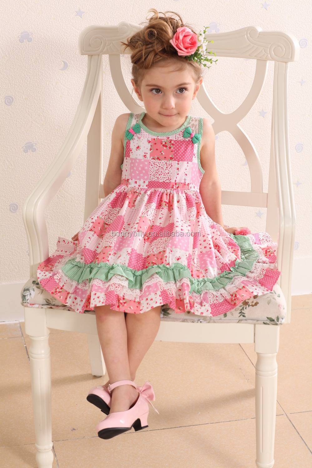 0f89efea2 100% cotton dresses for little girls
