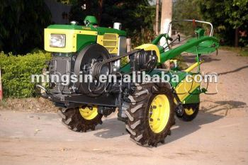 Walk Behind Tractor >> 12hp Power Tiller Walk Behind Tractor Used In The Farm Field View Walking Tractor Mingsin Product Details From Qingdao Mingsin Trade Co Ltd On