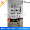 metal powder coated auto parts standing display shelf/avocado tool racking display standing