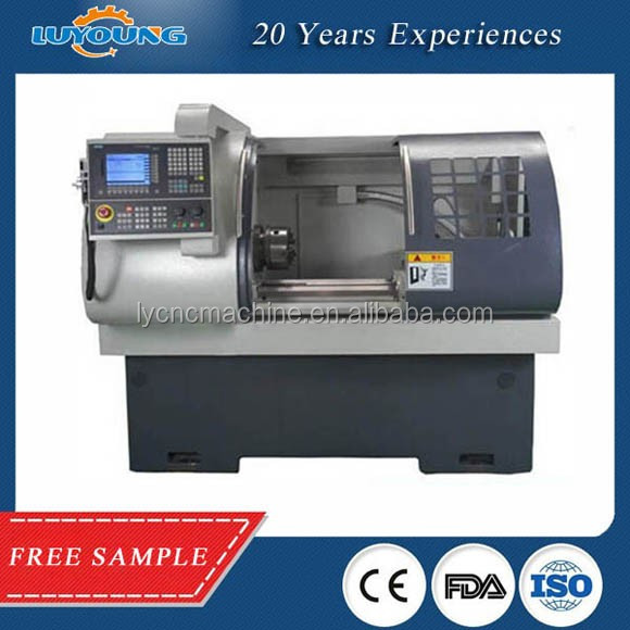 CK6432A High Precision CNC Brass Lathe Turning Machine