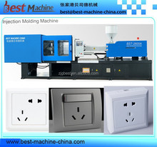 plastic electric switch socket injection molding making machine for construction industry