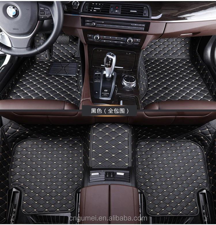 5d Luxury Car Floor Mats Right Hand