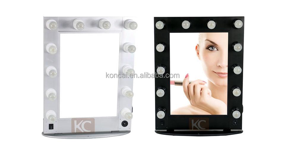Exquisite Lighting Portable Beauty Salon Station Furniture Mirror