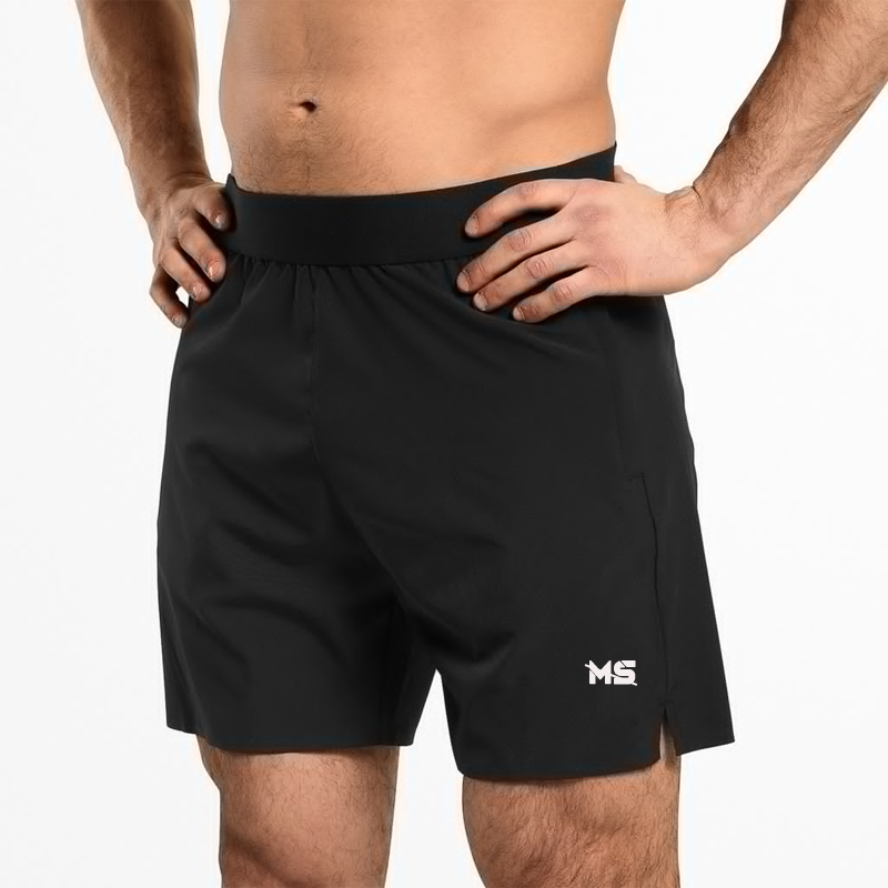 Dry Fit Material Men's Athletes Soft Shorts Sports Pants for Gymwear