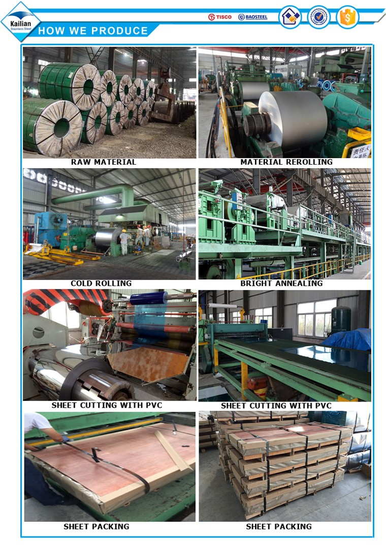 SS sheet 410 430 304 stainless steel sheets and plates of good quality
