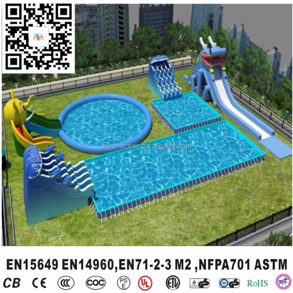 Large Inflatable Pool Slides For Inground PoolsInflatable Swimming Slide