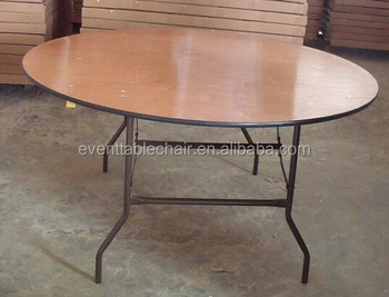 Wholesale Modern Popular Wood Banquet Folding Tables For Party And Event