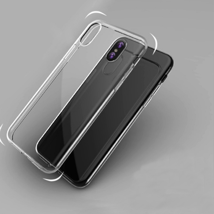 Custom phone accessories tpu smartphone case soft silicone phone case for iphone 10 X mobile phone Clear Transparent case cover