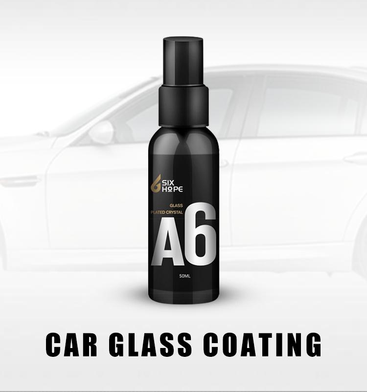 سوبر مسعور نانو طلاء طارد المياه طلاء الزجاج السيارة