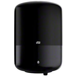 Zoom Supply SCA 559028A Tork Towel Dispenser, Elegant Commercial-Grade Black Tork Center Pull Paper Dispenser, Elevation M2 Dispenser -- ADA Compliant Version