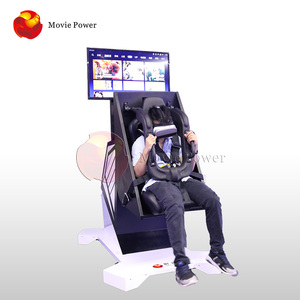 360 VR Flight Simulator Roller Coaster 720 9d VR Chair Vr Amusement Park Equipment