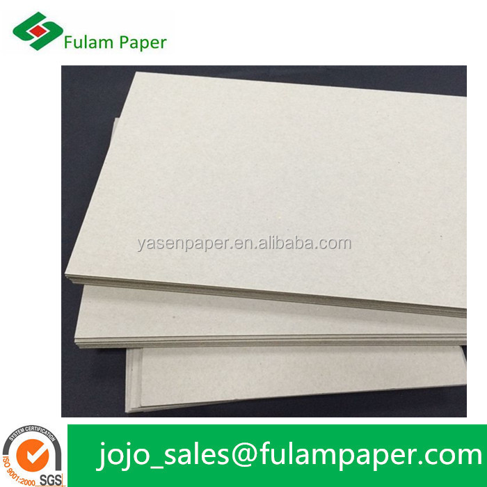 hard laminated cardboard grey solid carton card board