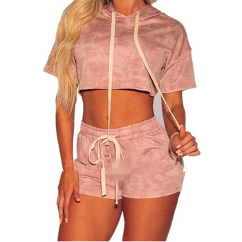 b0d89c04b3 2019 Manufacturer Top And Shorts Blank Jogging Suits Sexy Sport Wear Two  Piece Set Women Clothing - Buy Sport Wear,Blank Jogging Suits,Two Piece Set  ...
