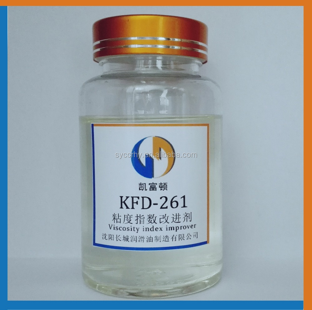KFD-261 Super good shear stability Large span gasoline engine oil lubricant oil additives viscosity index improver