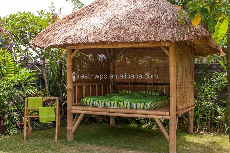 flachdach gartenlaube vorgefertigten pavillon pavillon mit wpc b gen pavillons ger ste. Black Bedroom Furniture Sets. Home Design Ideas