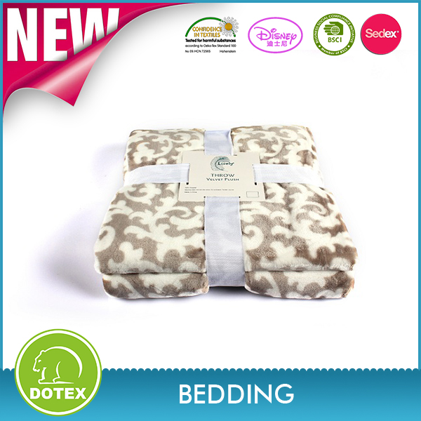 2018 new China bed factory sherpa fleece heating blanket